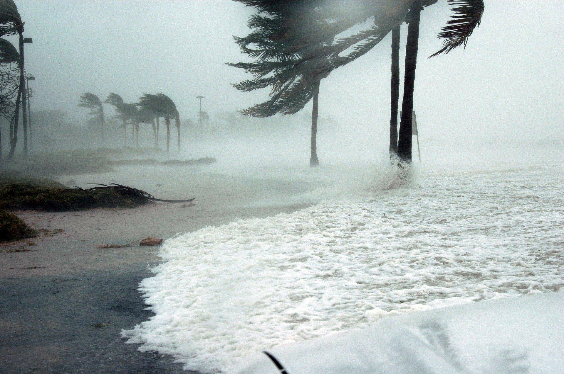 Hurricane in Key West, Florida